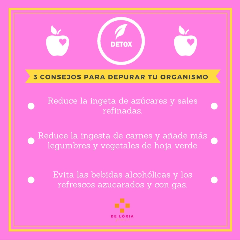 3 consejos para depurar tu organismo