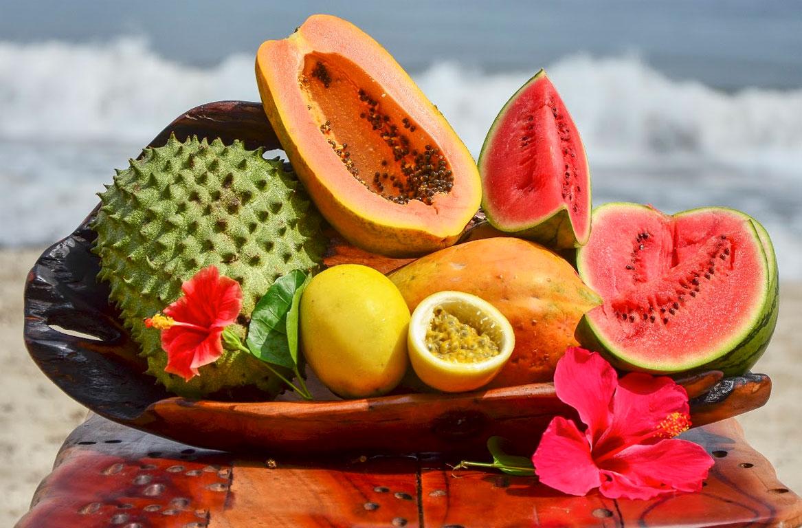 fruta azucar